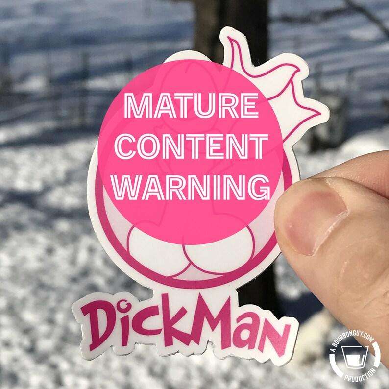 STICKER  DickMan image 0