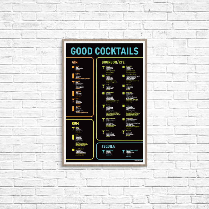 Good Cocktails Poster image 0