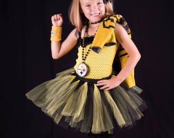 Steeler nation. Love those Pittsburgh Steelers? Then you will love your little girl in this adorable outfit.  sc 1 st  Etsy & Steelers costume | Etsy