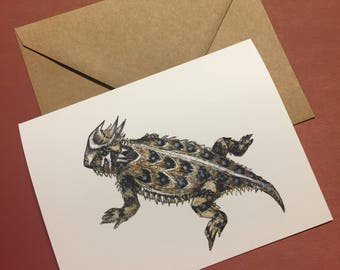 Horned Toad Notecard