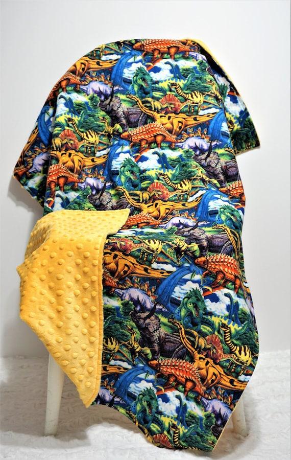 2196170afa Dinosaur blanket baby boy blanket dinosaur nursery boy blanket