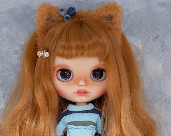 "Custom Blythe doll OOAK ""Iriska"" from Katalena"