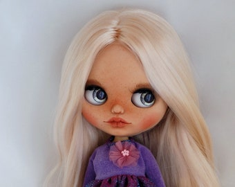 "Custom Blythe doll OOAK ""Monica"" from Katalena"
