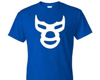 Blue Demon T-Shirt - Lucha Libre Mexicana Playera!