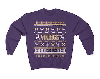 Minnesota Vikings Sweatshirt Etsy