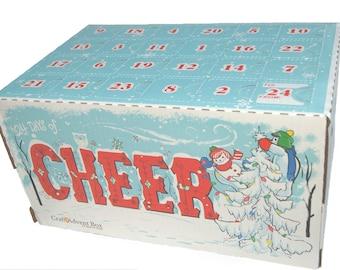 Snowmen Craft Advent Box