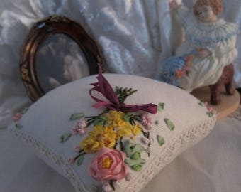 Victorian style pin cushion