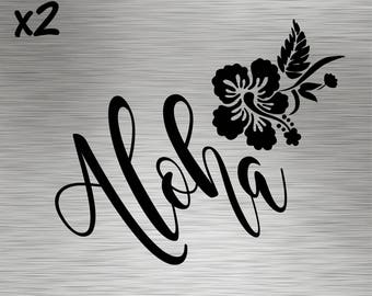 Two - Aloha Decals