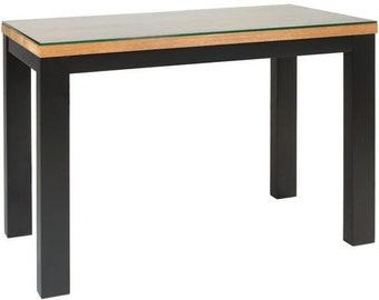 Greenapple Geneva Smoked Glass Lamp /side/occasional Table
