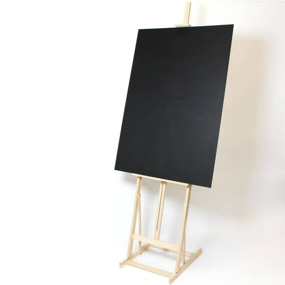 Tall Studio Easel & Optional Chalkboard. Blackboard stand. | Etsy