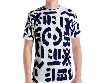 Heirograff Unisex SS T-shirt – Navy