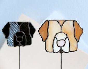 Stained Glass 'LABRADOR RETRIEVER' Suncatcher | Dog Suncatcher | 'Buddy' line | Gift for Dog Lovers | Renter Friendly