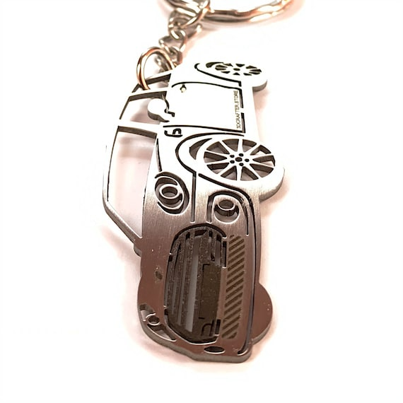 Mini Cooper key chain Stainless Steel Key ring for Enthusiasts or for gift