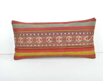 kilim pillow 24x12 Pillow Cover