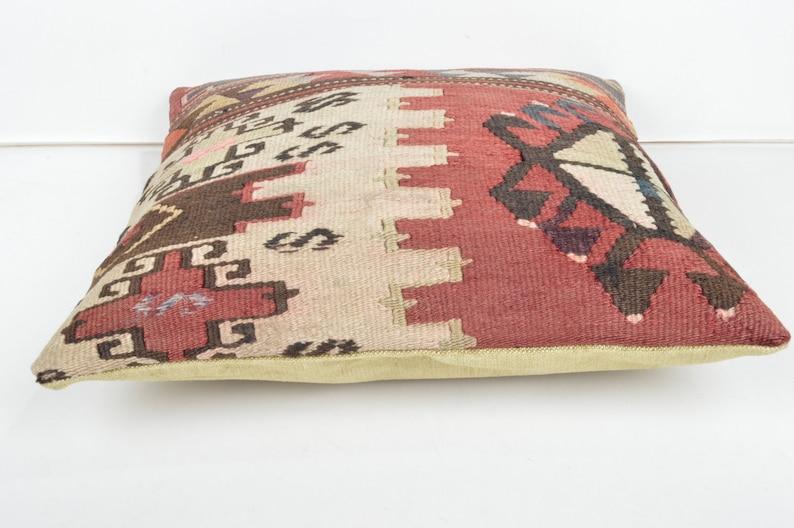 kilim pillow,16x16/'/' pillow,pillows,kilim cushion,rug pillow,pillow case,pillow cover,kilim pillow cover,kilim cushion cover,rug pillow 13