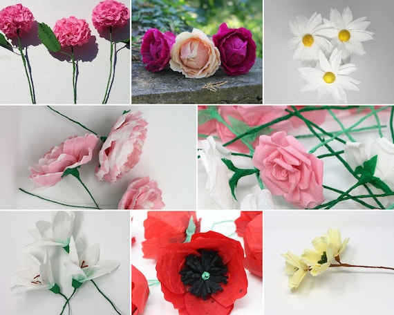 Make Your Own Flower Bouquet Diy Floral Bunch
