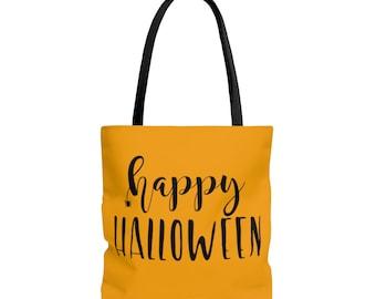 Trick or Treat Tote Bag: Reversable Happy Halloween