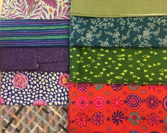 Cotton Fabric Scrap Pack Lot No. 9