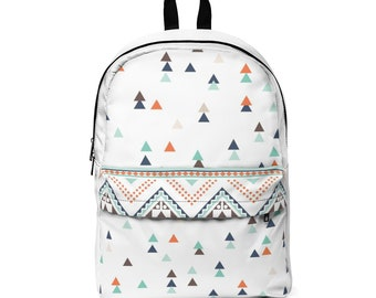 Classic Backpack: Triangles