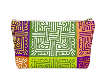 Makeup Bag: Colorful Tiles