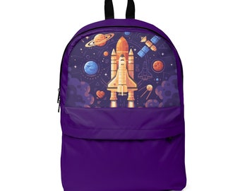 Classic Backpack: Purple Space