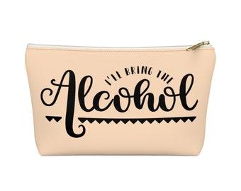 Makeup Bag: Alcohol