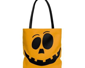 Trick or Treat Tote Bag: Jack O' Lantern Face