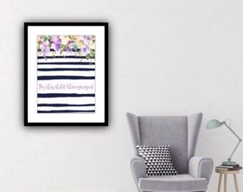 PDF Printable Art - Bouquet de Mariee