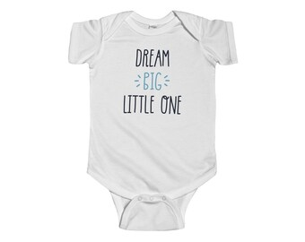 Infant Bodysuit, Dream Big Bodysuit