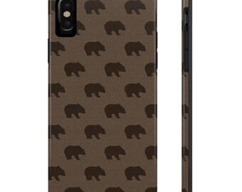 Bears Phone Case, Case Mate Tough Phone Cases, Custom Phone Cases, iPhone Case, Samsung Phone Case, Galaxy Case