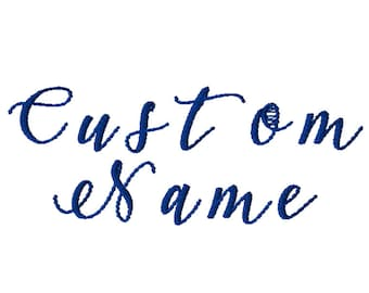 Custom Embroidery Files