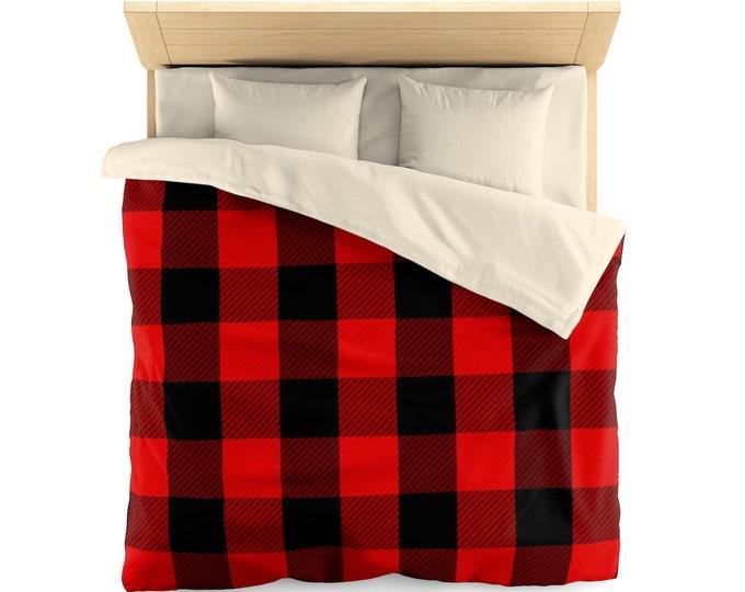 Featured listing image: Duvet Cover, Designer Duvet, Home Decor, Duvet Blanket, Home Goods, Bedroom Decor, Gift for Home