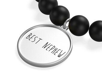 Best Nephew Matte Onyx Bracelet