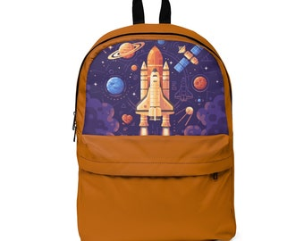 Classic Backpack: Orange Space