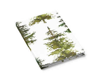 Ruled Line Journal: Woodland Trees