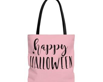 Trick or Treat Bag: Pink