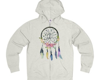 Dreamcatcher French Terry Zip Hoodie