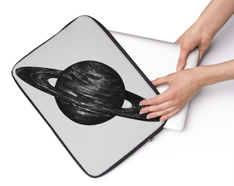 Saturn Custom Printed Laptop Sleeve
