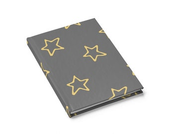 Ruled Line Journal: Star Doodles