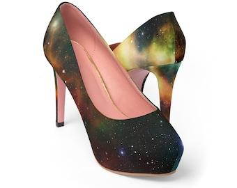 Galaxy Womens Platform Heels