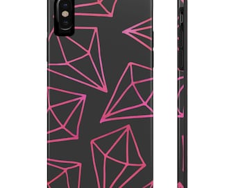 Pink Diamonds, Case Mate Tough Phone Cases