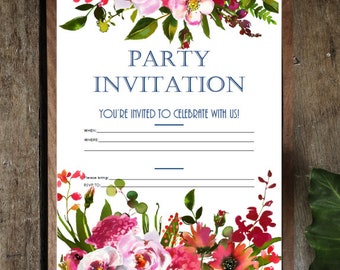Printables - Invitations