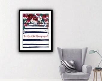 PDF Printable Art - Christmas Grenadine