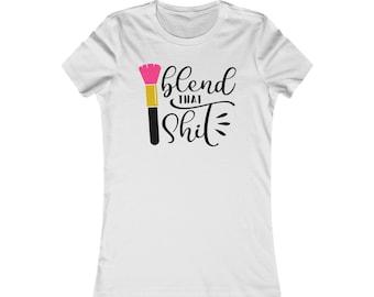 Glam Tee, Glam Fam, Makeup Tee, Women's T-Shirt, Makeup Apparel, Glam Apparel, Bella Canvas, Bella Canvas Shirt