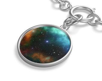 Galaxy Chunky Chain Bracelet