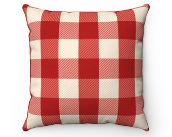 Decorative Pillows, Plaid Pillow, Polyester Pillow, Home Decor, Living Room Decor, Pillow Decor, Bedroom Decor, Pillow Art