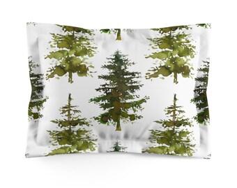 Trees Microfiber Pillow Sham