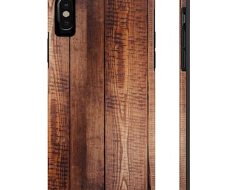 Wood Grain Phone Case, Case Mate Tough Phone Cases, Custom Phone Cases, iPhone Case, Samsung Phone Case, Galaxy Case
