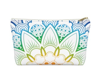 Makeup Bag: Rainbow Mandala