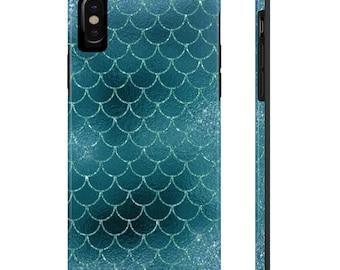 Mermaid Phone Case, Case Mate Tough Phone Cases, Custom Phone Cases, iPhone Case, Samsung Phone Case, Galaxy Case